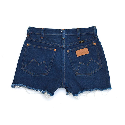 denim shorts - indigo - waist size 27