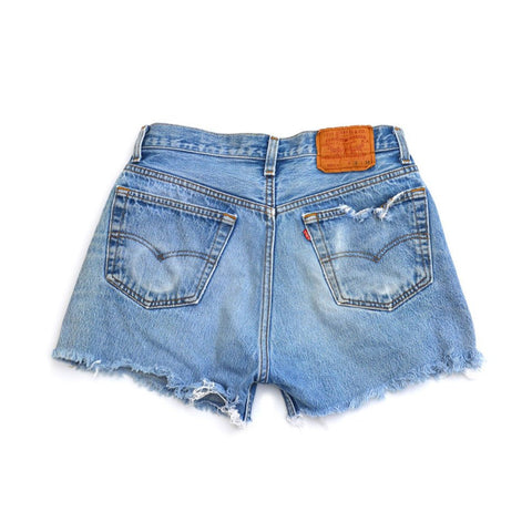denim shorts - venice beach fade - waist size 34