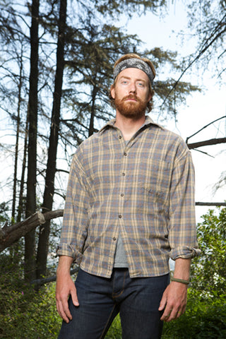 flannel shirt - lumberjack plaid