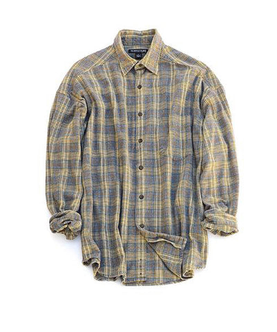 flannel shirt - lumberjack plaid - men's size large