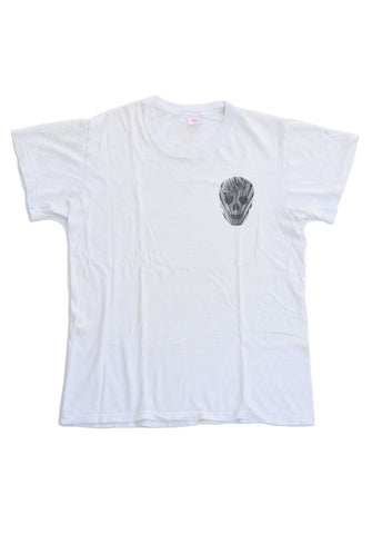 graphic tee - palm skull