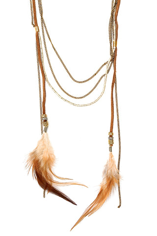 mohawk necklace