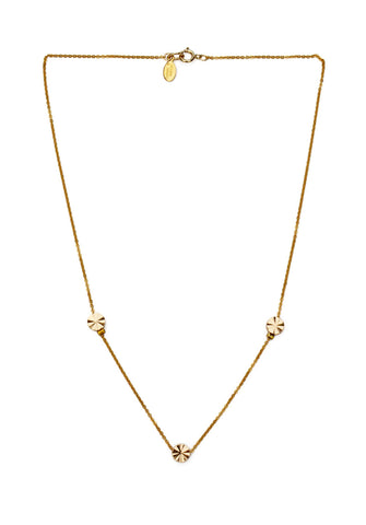 sunray necklace - gold