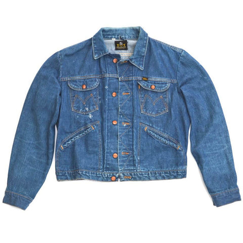 vintage denim jacket - maverick