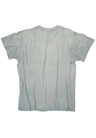 vintage tee - sunfaded sage - women's large