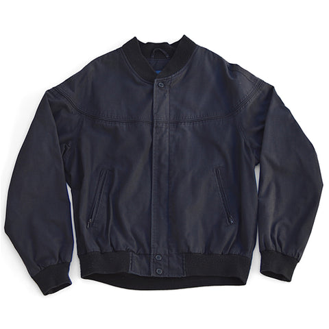 windbreaker jacket - navy - men's size medium