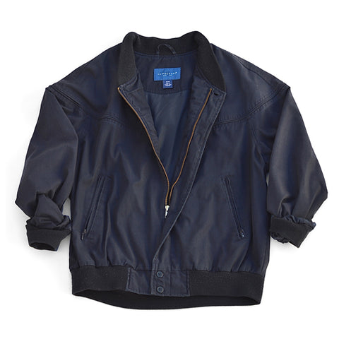 windbreaker jacket - navy