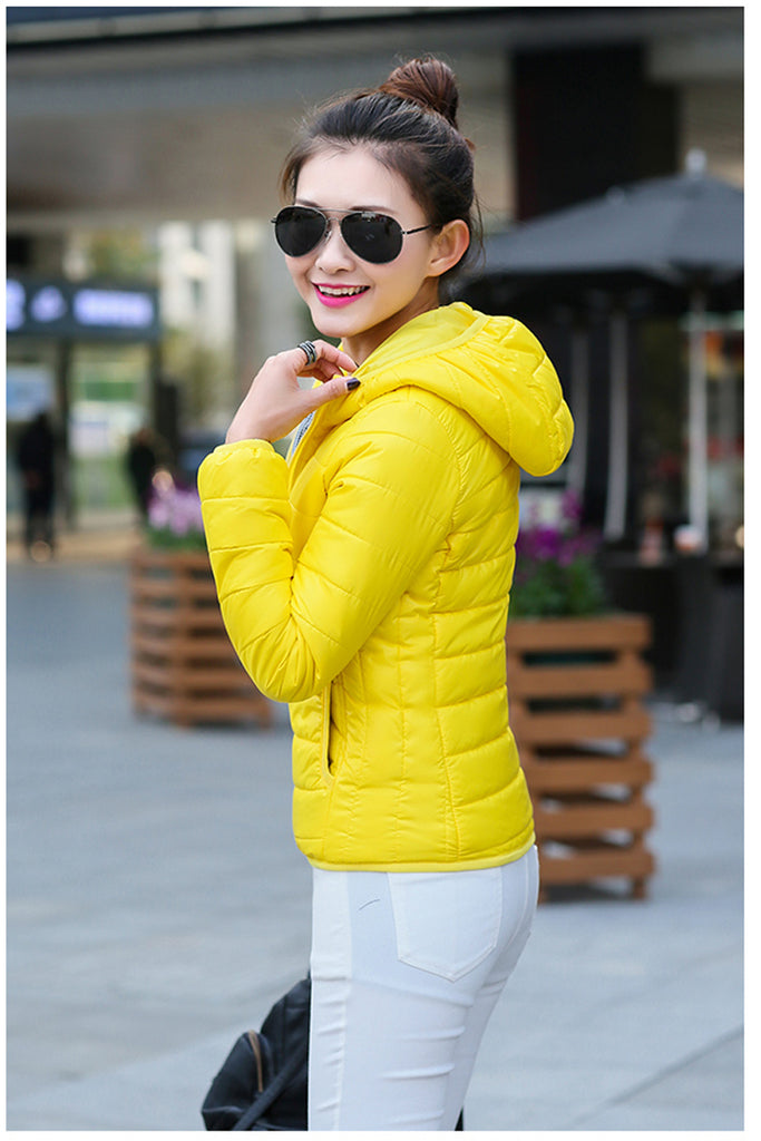 Hooded Spring Coats