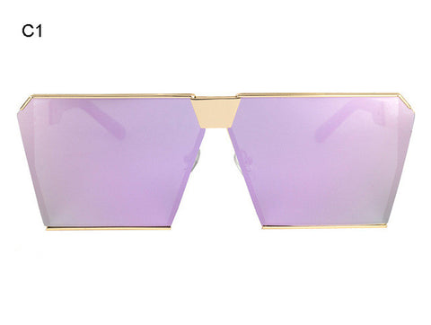Oversized Shield Style Glasses
