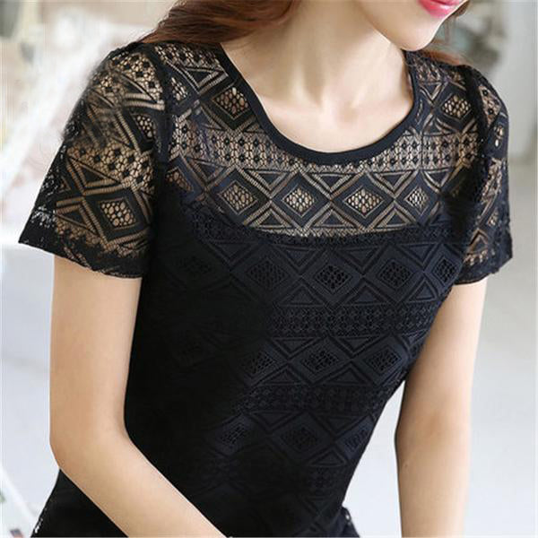 Crochet Chiffon Ladies Clothes