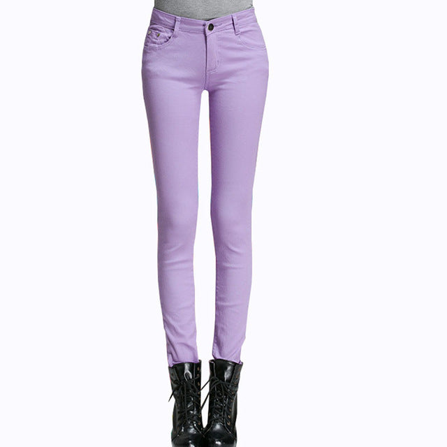 Casual Cotton Slim Jeans