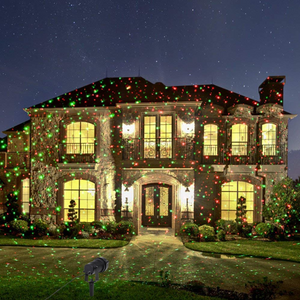 Outdoor Christmas Projector