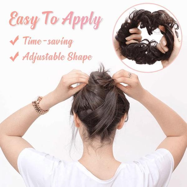 Easy-Bun Hair Scrunchies