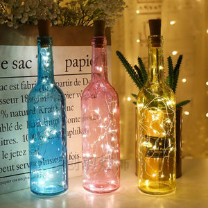 LED Cork Bottle String Lights