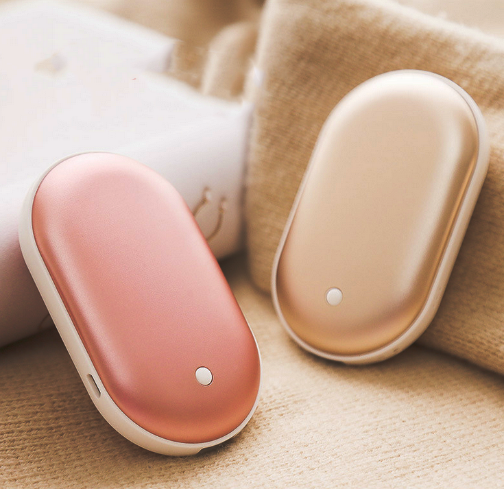 USB Rechargeable Hand Warmer + Power Bank