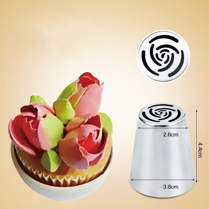 """Cake Love"" 7pc Frosting Nozzles"