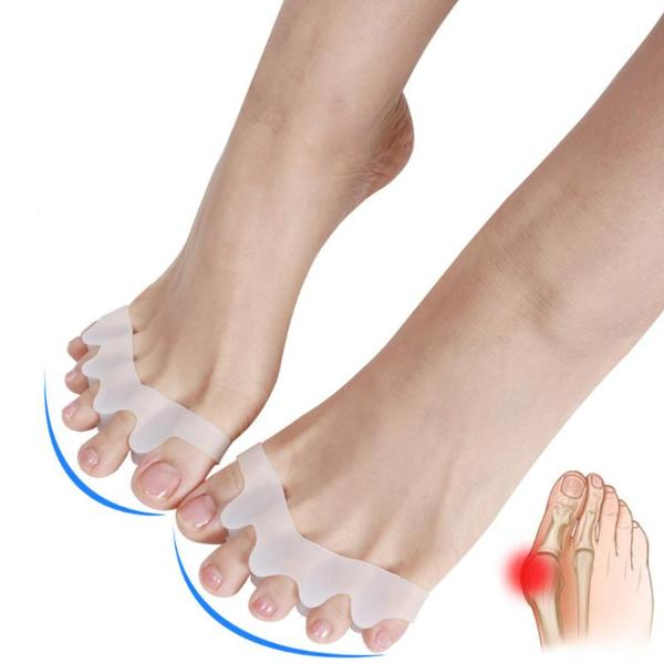 Toe Separating Bunion Corrector - x5 Pairs