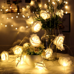 LED Rose String Lights