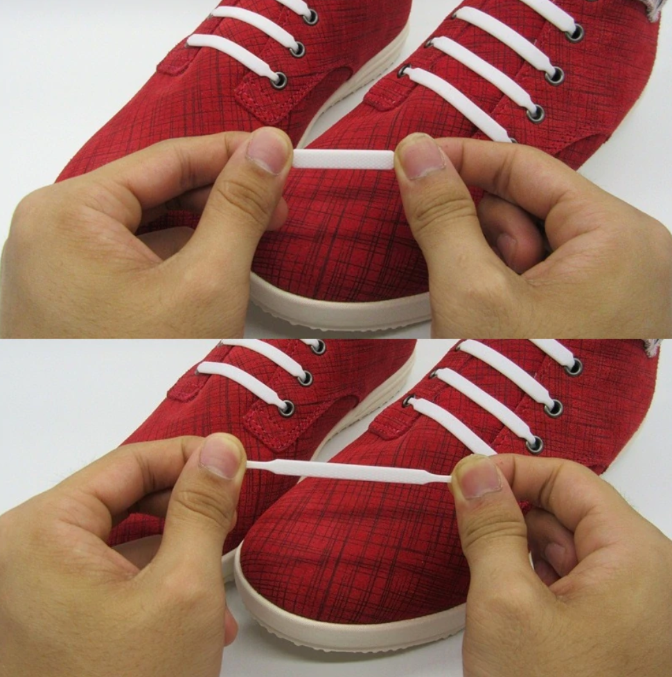 Universal Silicone No Tie Shoelaces