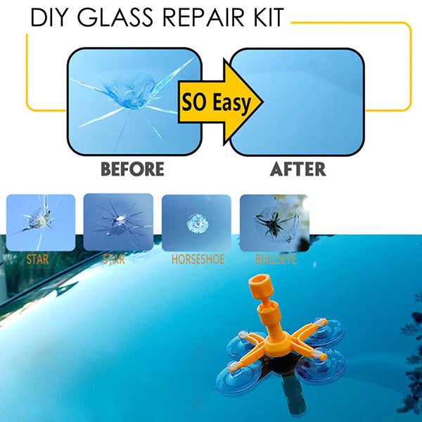 DIY Glass Repair Kit!