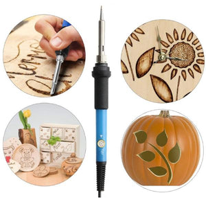 Wood Burning Pyrography Kit - 28pcs