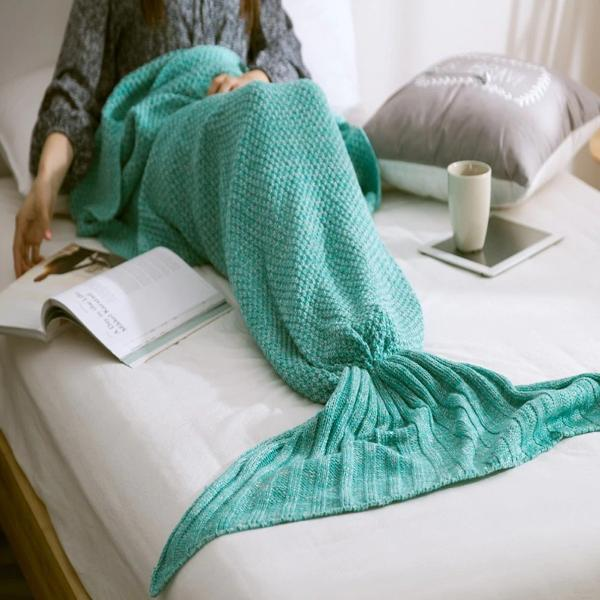 Handmade Mermaid Quilt Blanket