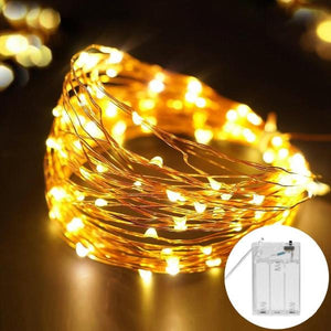 Copper Wire LED Lights