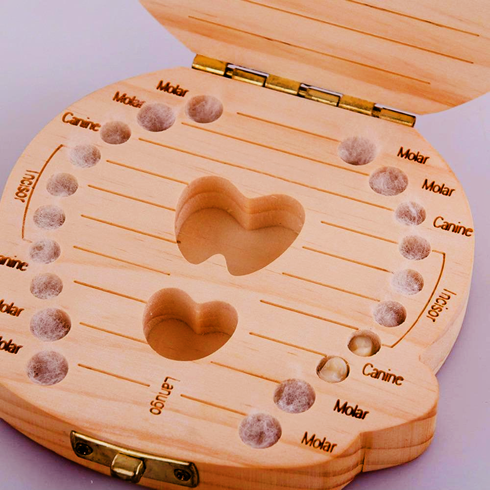 Baby Tooth Memory Box