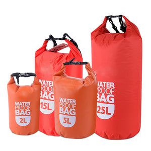 Waterproof Roll-Top Dry Storage Bag - 2L/5L/15L/25L