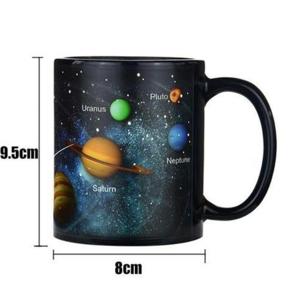 Color Changing Solar System Mug