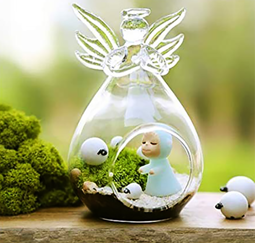 """Guardian Angel"" - Terrarium"
