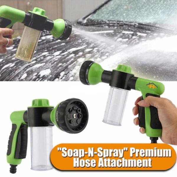 """Soap-N-Spray"" Premium Hose Attachment"