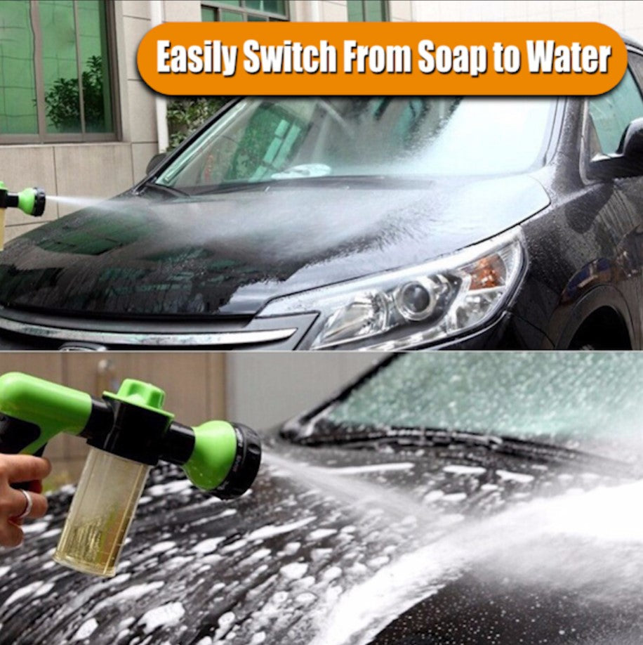 8 in 1 Soap-N-Spray Car Washing Tool