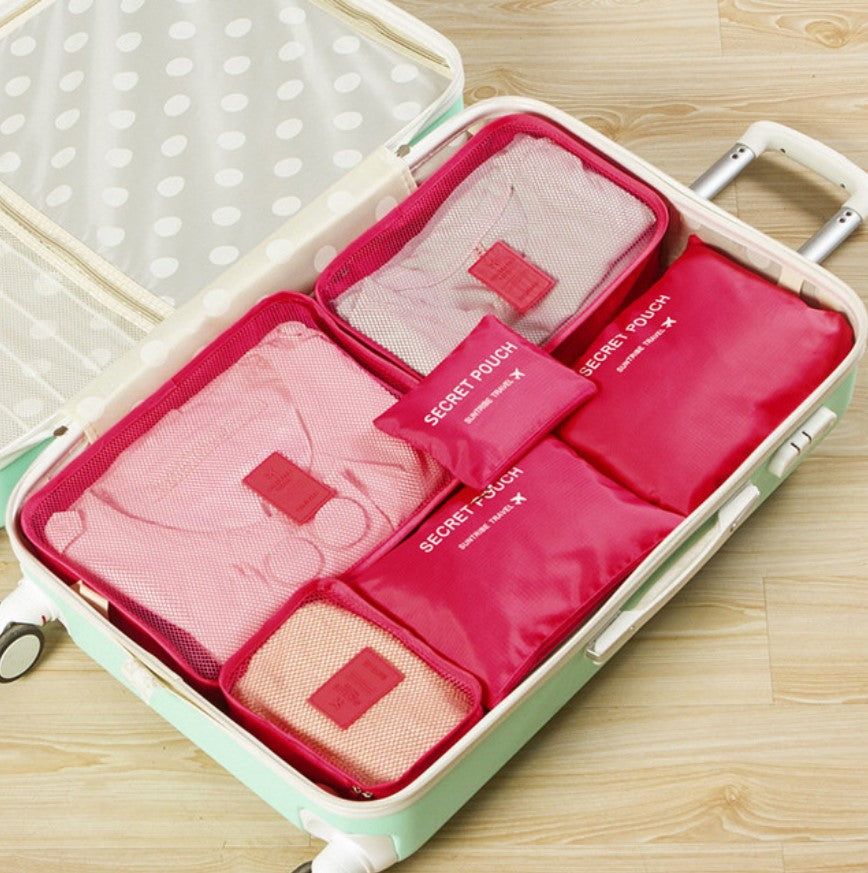 Easy Travel Packing Cubes - 6pcs