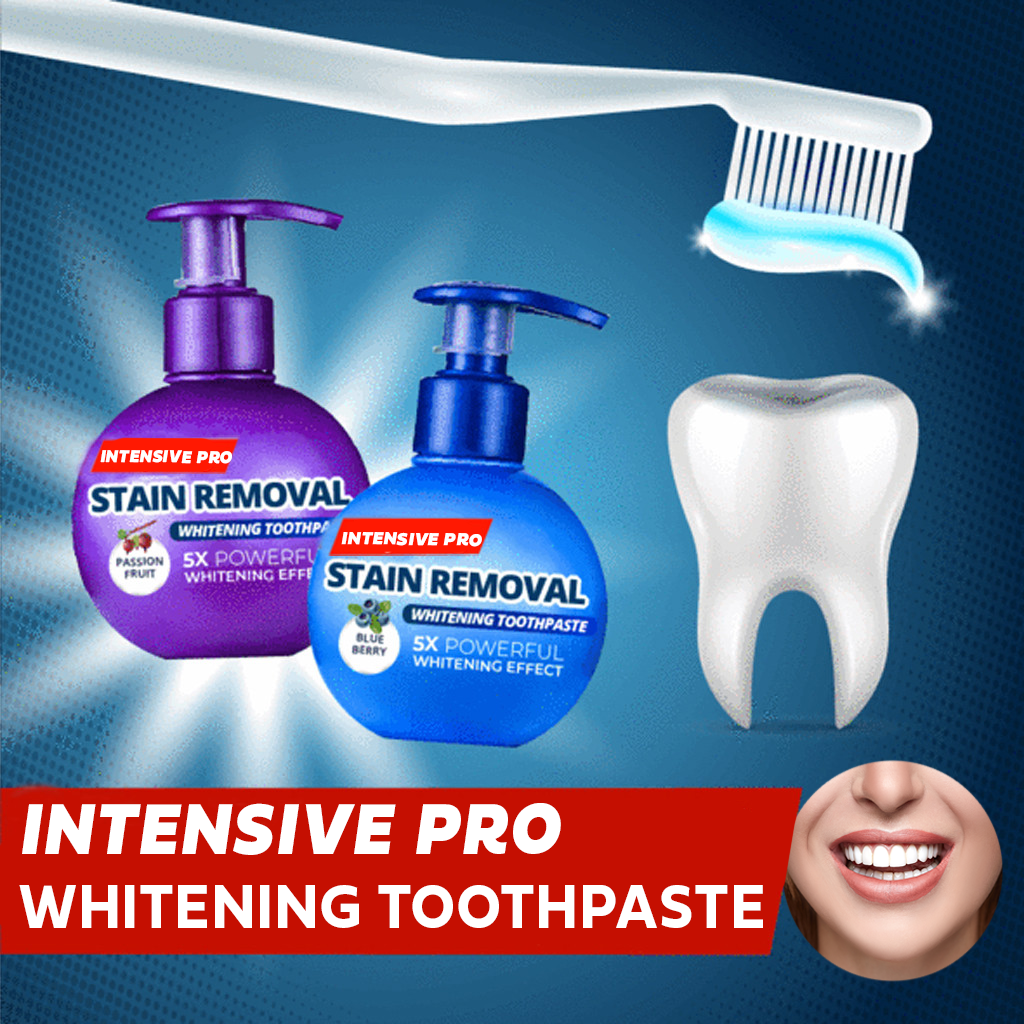 Intensive Pro Whitening Toothpaste