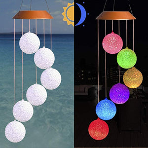 Solar Powered Wind Chime