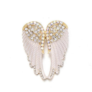 """Protection"" Angel Wing Brooch"