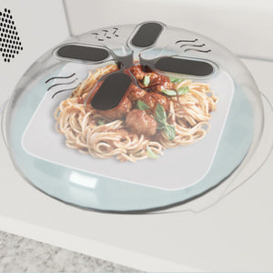 Splatter Cover Microwave Magnetic Food Cover Humble Household