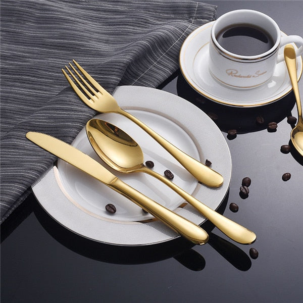 Luxurious Stainless Steel Cutlery