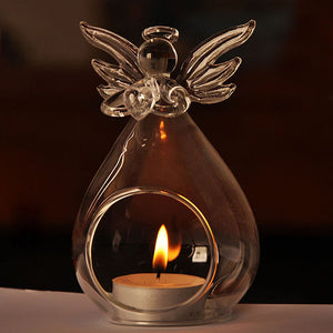 """Guardian Angel"" - Candle Holder"