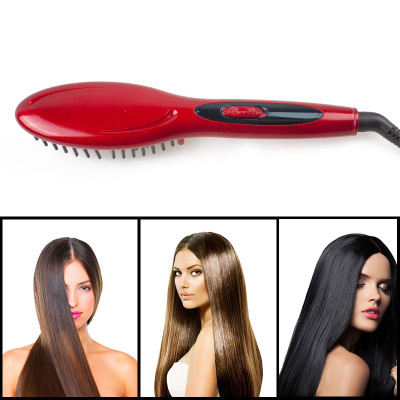 The Amazing Hair Brush Straightener