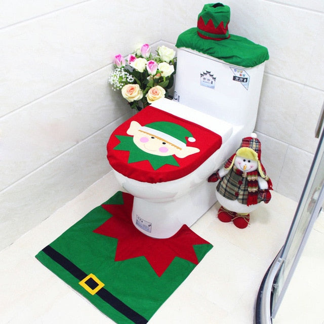 Holiday Toilet Covers