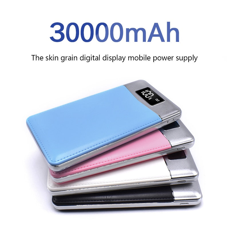 Quick Charge Power Bank 30000mAh