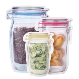 Reusable Jar Bags - 36 Pieces