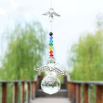 """Guardian Angel"" Chakra Crystal Suncatcher"
