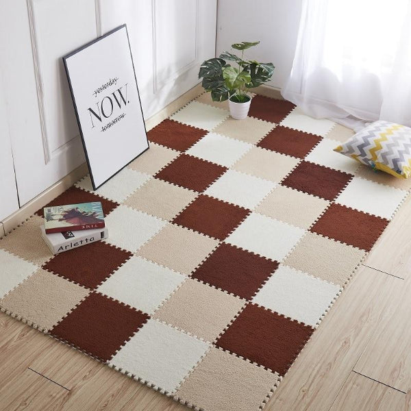 Childrens Jigsaw Carpet - Floor Protector