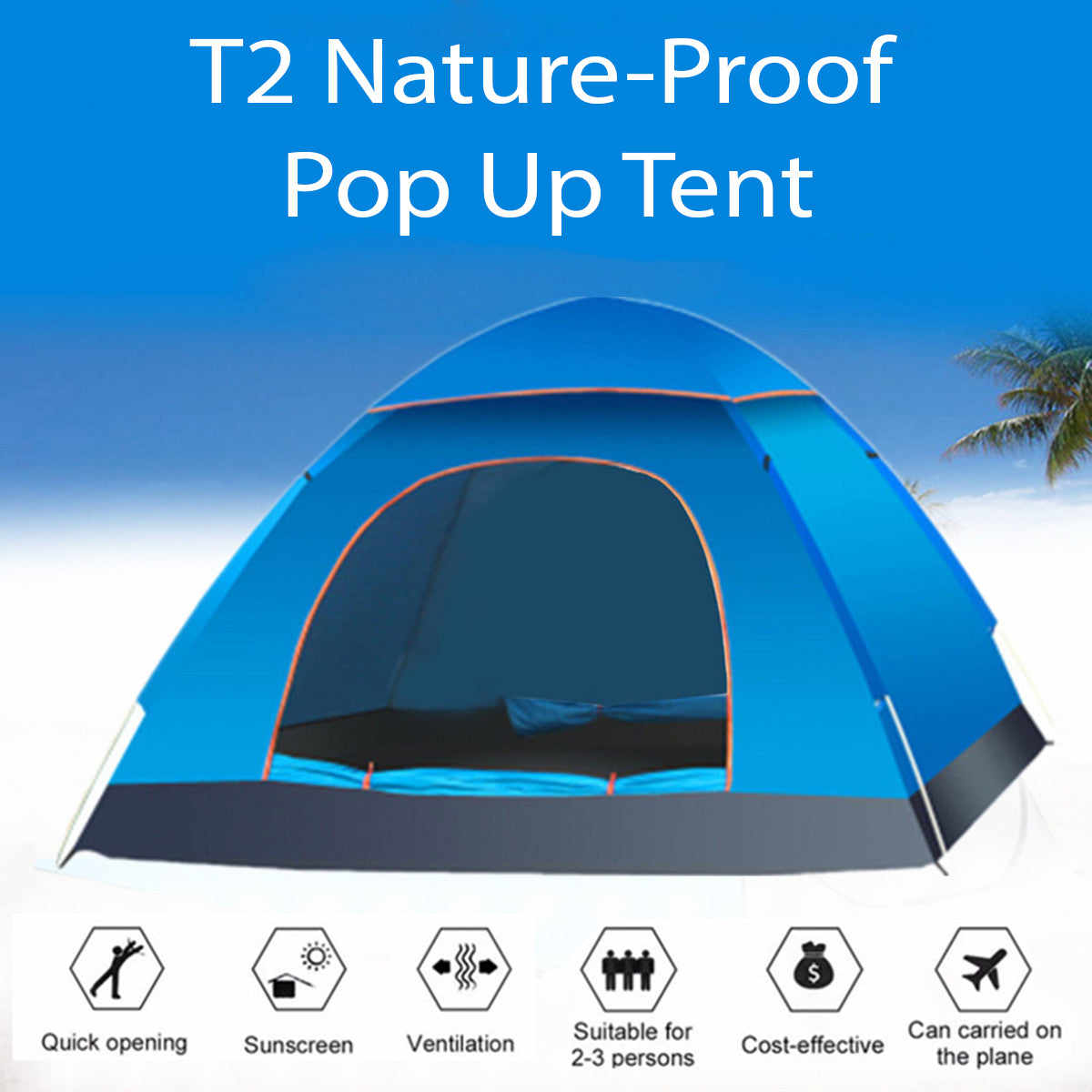 T2 Nature-Proof - Pop Up Tent