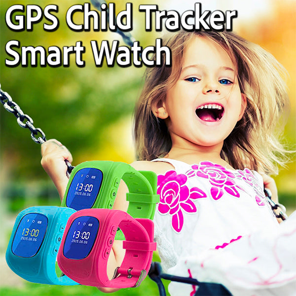 GPS Child Tracker Smart Watch