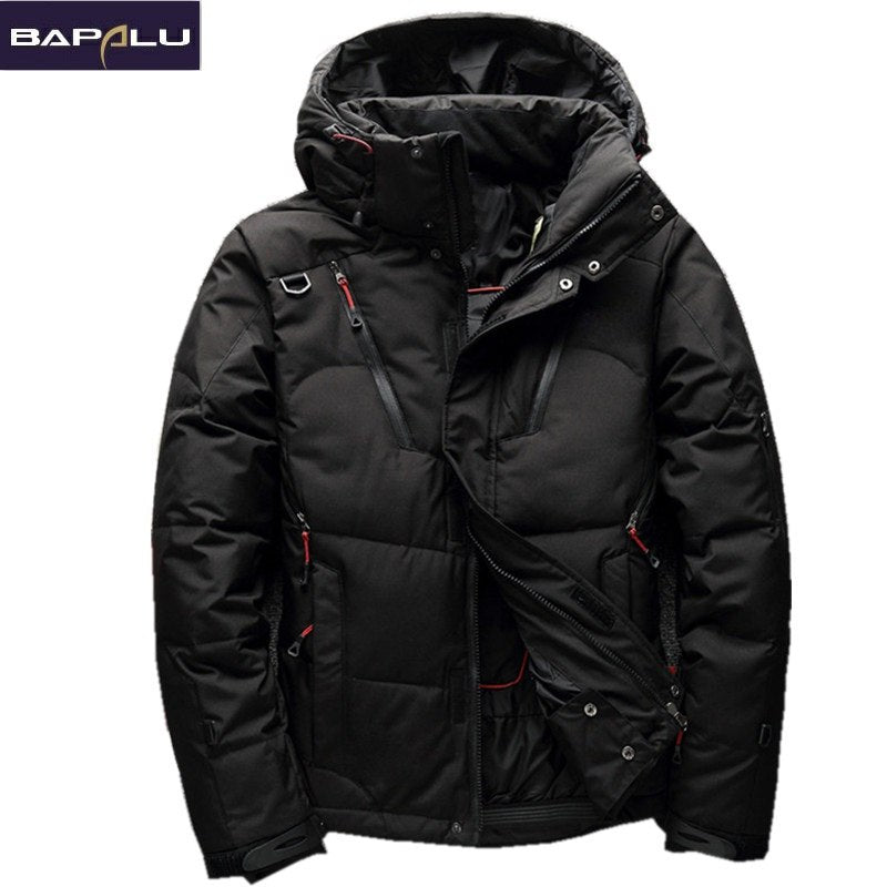 2018 High Quality 90% White Duck Thick Down Jacket men coat Snow parkas male Warm Brand Clothing  winter Down Jacket Outerwear - GTG
