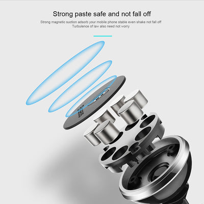 Baseus Magnetic Car Phone Holder For iPhone X Samsung S9 Magnet Mount Car Holder - GTG
